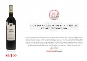 paysage Cave des  Vignerons De Saint Chinian - Renaud de Valon 2011