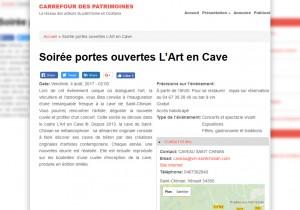 Publication Carrefour des patrimoines